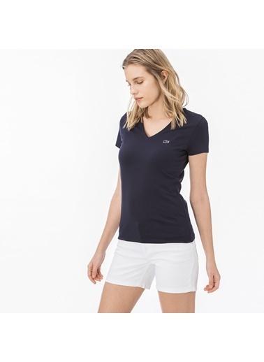 Lacoste Kadın  Tişört TF0999.166 Lacivert